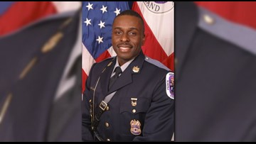 Prince George's County police Cpl. Mujahid Ramzziddin honored at fallen officers ceremony