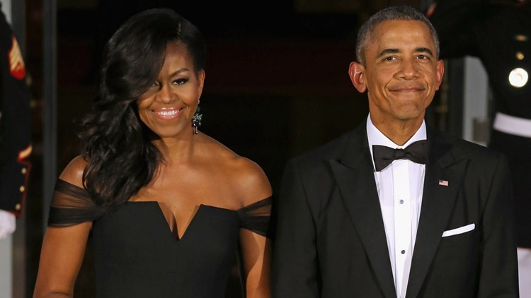 Barack and Michelle Obama Spotted at Beyonce and Jay-Z Concert