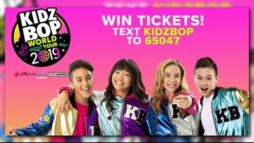 Win tickets to KIDZ BOP World Tour 2019