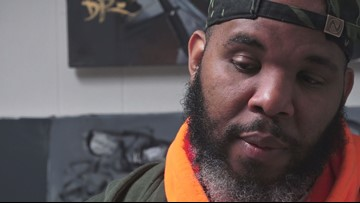 DC artist uses paintbrushes to fight for social justice | #ForTheCulture