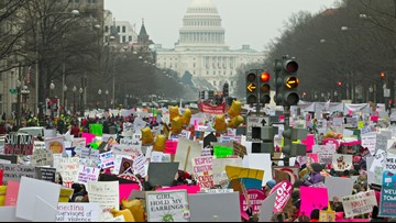 Women's March 2020 draws huge crowds to the nation's capital, but not quite the same it once had