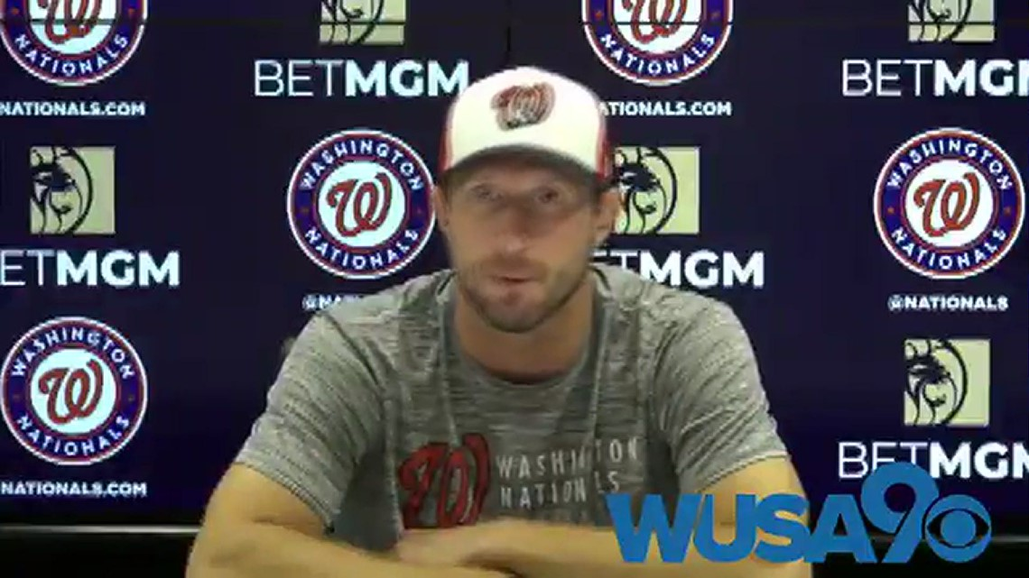 Max Scherzer sounds off about wanting more fans at Nats Park
