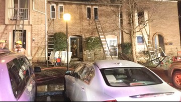 15 displaced after fire blazes through several townhomes in White Oak