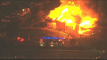 Massive fire causes $120,000 damage to community clubhouse in Centreville, Va.