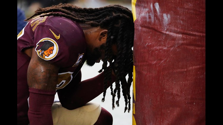 Redskins' safety D.J. Swearinger isn't holding anything back when it comes to letting the Redskins know who they should be drafting for the upcoming 2018-2019 season.
