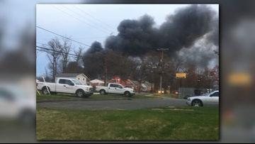 Several cars burned in Md. after fire breaks out at storage lot