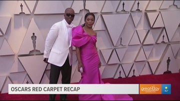 Oscar red carpet fashion recap