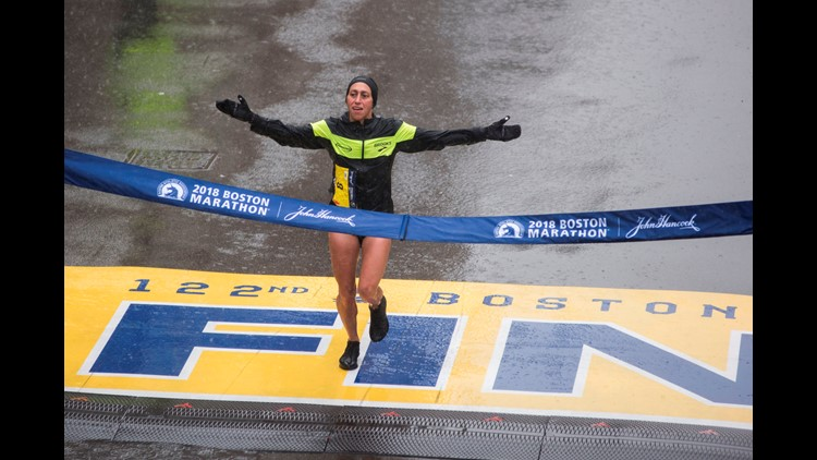 An American has won the elite women's division at the Boston Marathon for the first time in 33 years. Desiree Linden, a two-time Olympian, and 2011 Boston runner-up, battled the rain, ice, and wind to win the historic race.