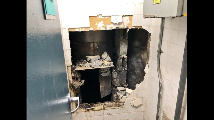 Garbage Chute Fire : Wusa trash chute fire displaces residents at md