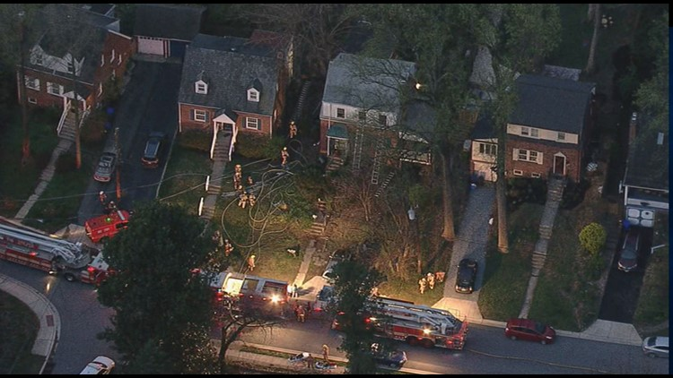 Two cats died in a house fire early Tuesday morning in Silver Spring, Maryland, fire officials said.