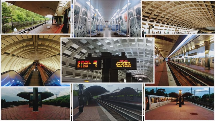 Justin Hague took a photo at every Metro station in the system
