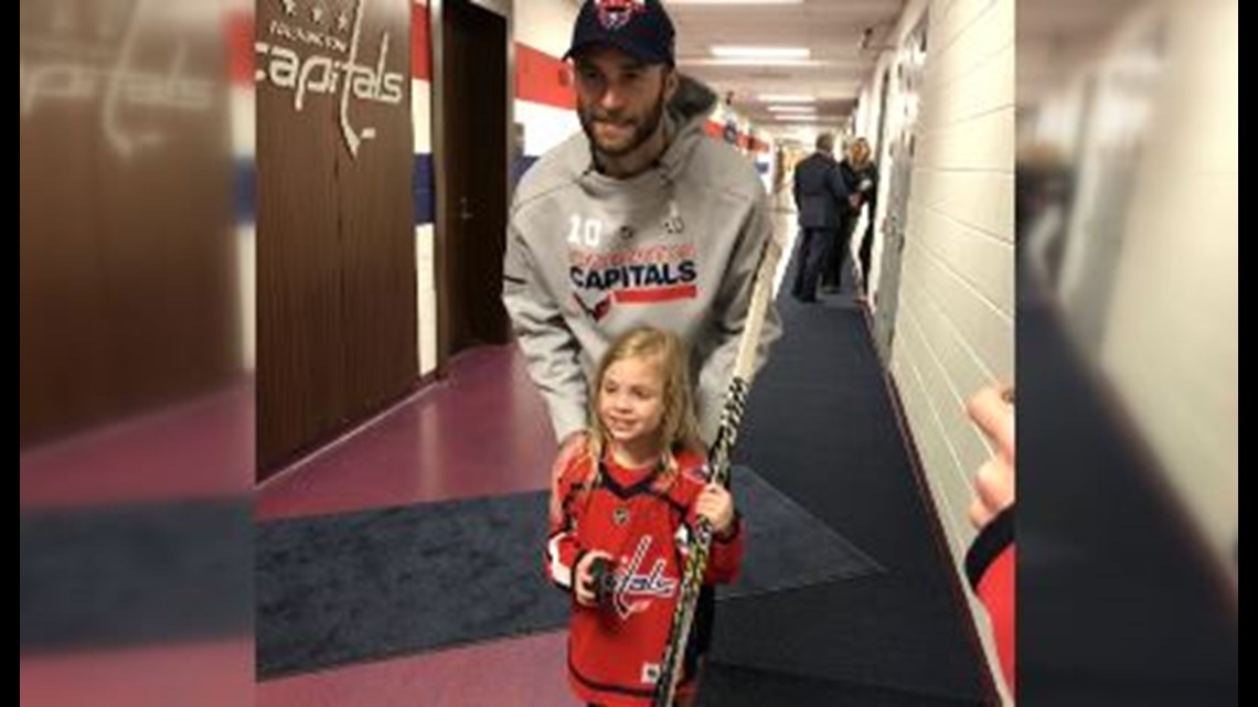 88da8fb3541 6-year-old Capitals  fan and internet sensation gets royal treatment at  Game 5