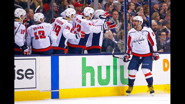 0eb4dabc985 Capitals advance with 6-3 win over Blue Jackets in Game 6