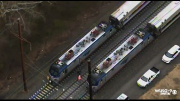 Track worker fatally struck by train near Bowie State station