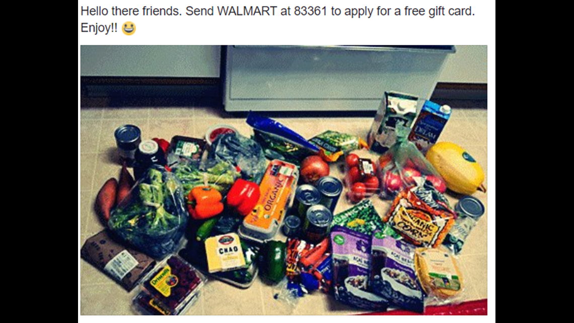 Verify Text To Receive Free Gift Card Offer From Walmart Legit