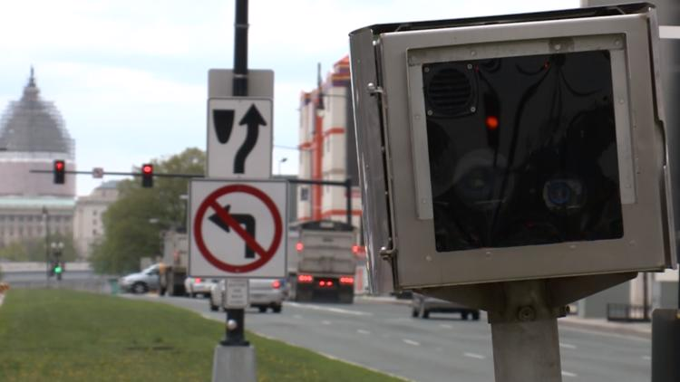 VERIFY: Is it true Maryland and Virginia drivers don't face penalties for unpaid DC camera tickets?
