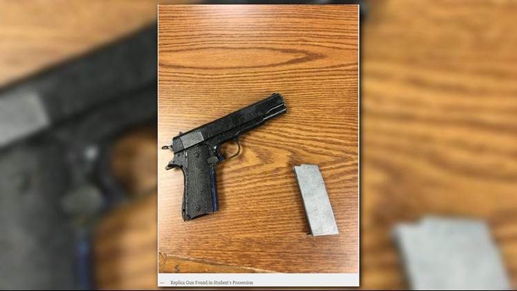 12-year-old Arrested for Bringing Replica Gun to School