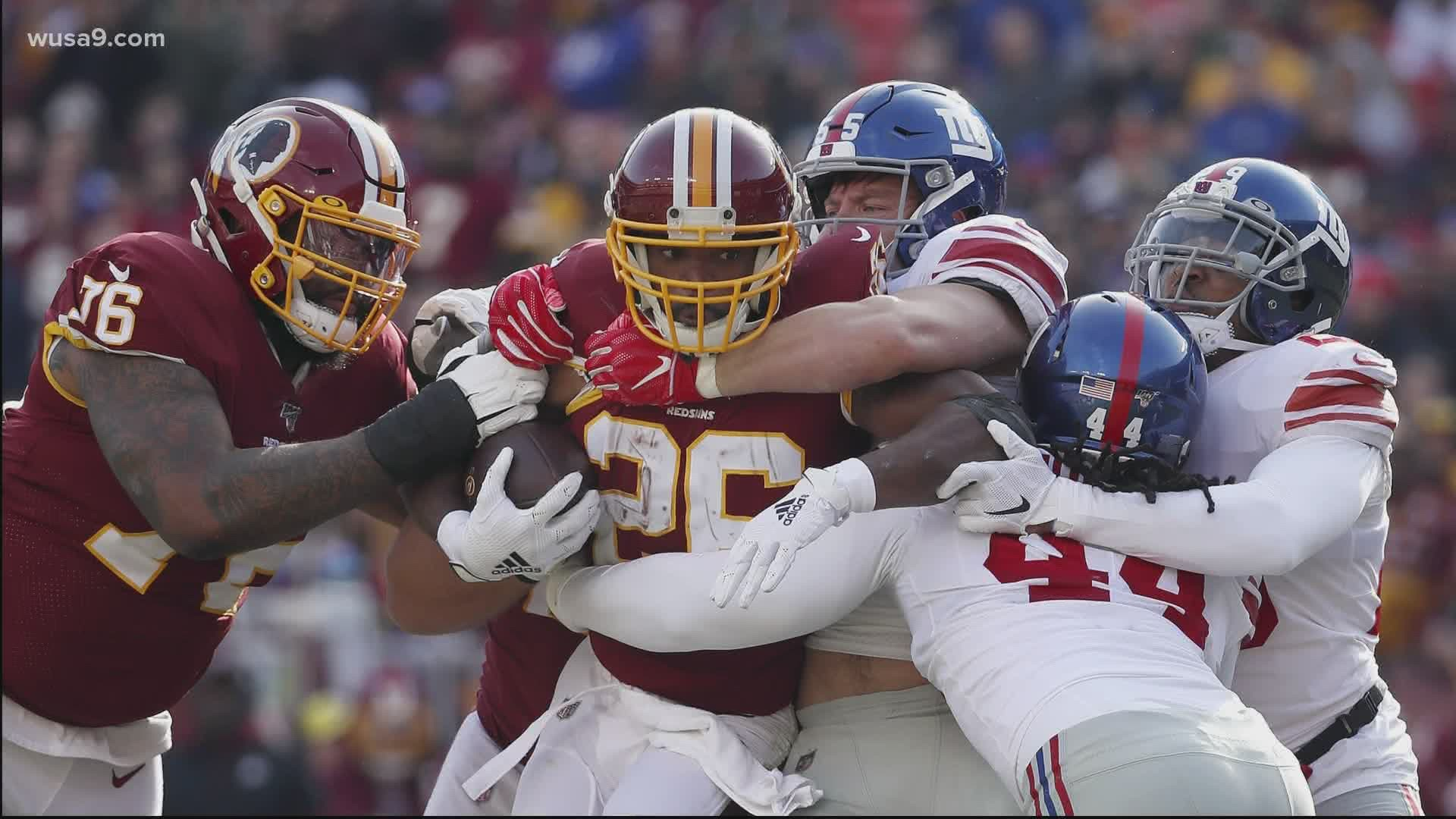Here S The Redskins Complete 2020 Schedule Wusa9 Com