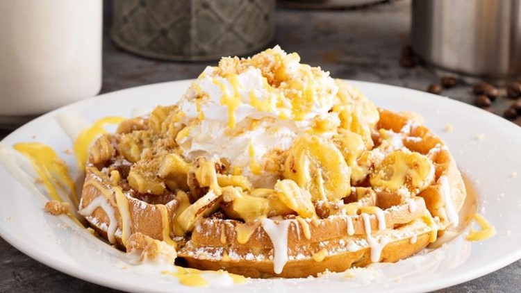 Recipe: Nana's Banana Pudding Waffle