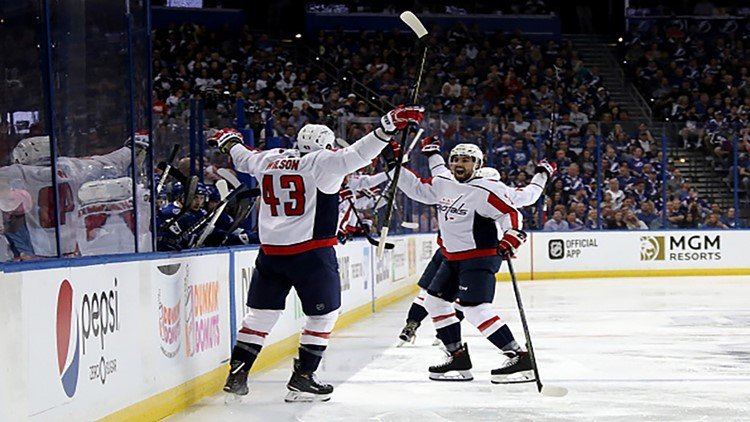 Washington Capitalizes in Game 1 Against Tampa Bay