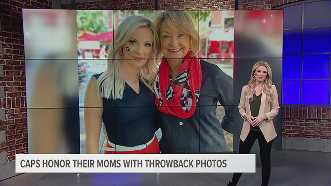 Capitals' stars honor their hockey moms with throwback photos