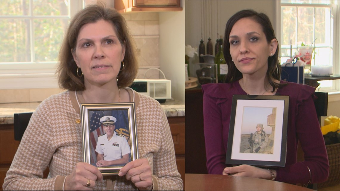 'I lose a full $1,000 a month' | Surviving military spouses across US storm Capitol Hill to fight for full benefits