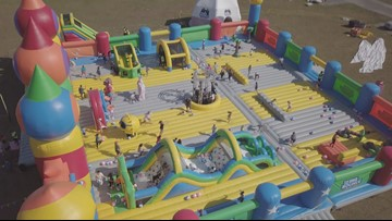 20,000-square-foot bounce house coming to DC area Memorial Day weekend