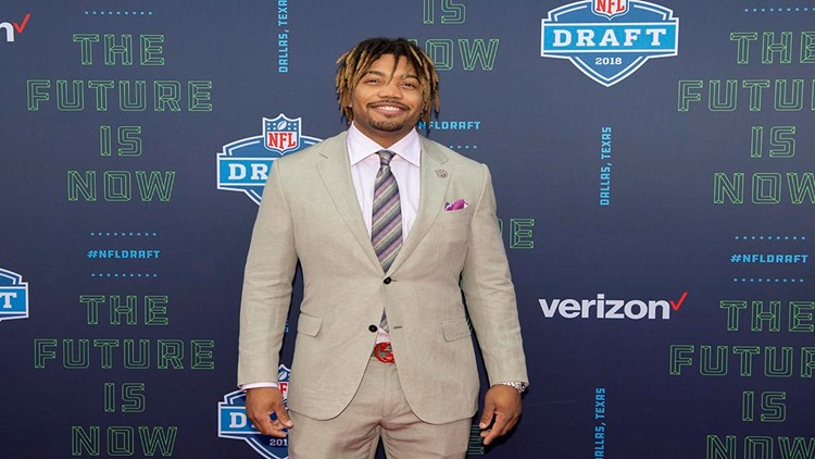 Derrius Guice will miss the 2018 season due to an ACL injury he sustained during a preseason game at the New Egland Patriots.