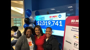 Impact: Giveback raises nearly $2.2 million for local non-profits