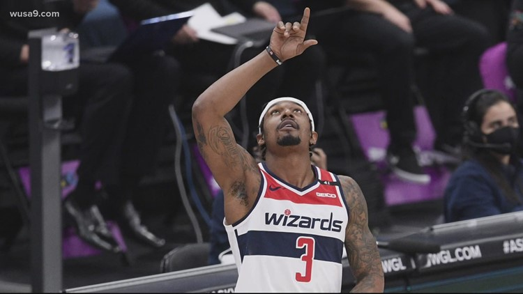 Wizards' Beal ecstatic to be an NBA All-Star Game starter