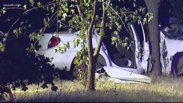 1 dead after car crashes into tree in Fairfax county