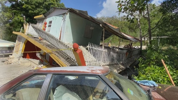 Destruction in Yauco