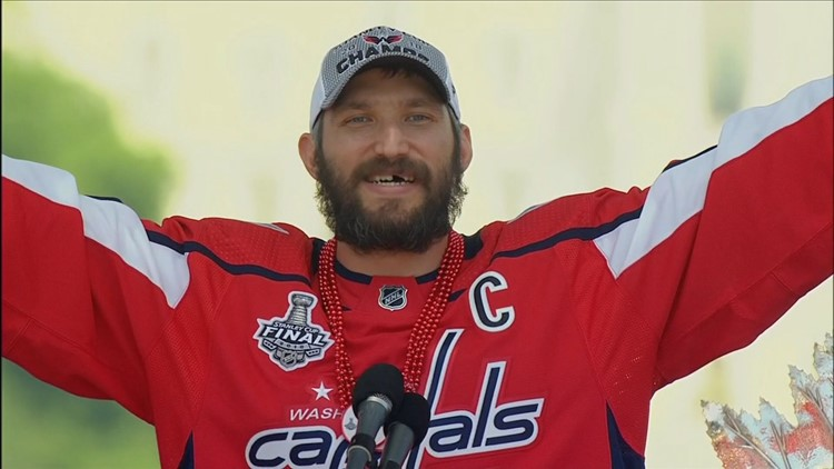 bba758d8 Capitals Alex Ovechkin predicted this: 'We're not going to be suck this  year'