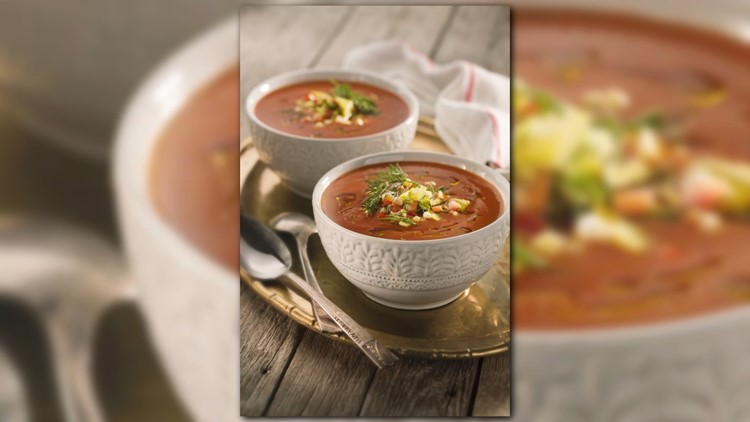 With temperatures rising in the D.C. area, Chef Zipora is cooking up some cold soup to help us cool down.