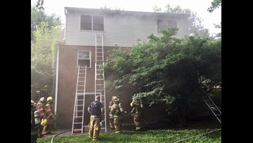 Electrical short suspected as cause in basement fire in Bethesda