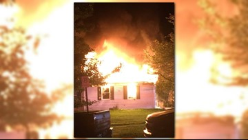 House fire breaks out Md.
