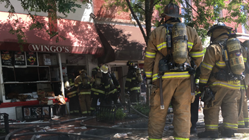 Large fire damages Wingo's, flower shop in Georgetown