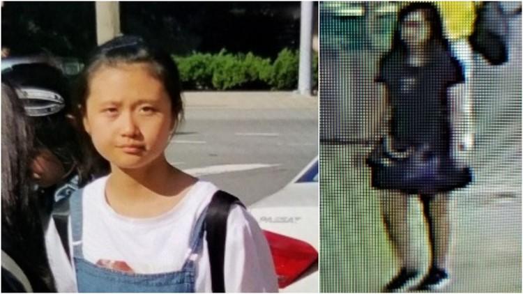Amber Alert 12-year-old JinJing Ma