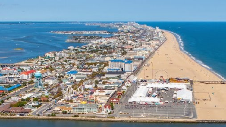 What City Is Ocean City Maryland In