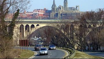Human bones, including a skull found near George Washington Memorial Parkway
