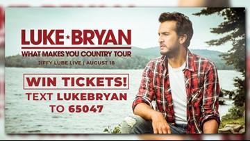 Win tickets to Luke Bryan at Jiffy Lube Live