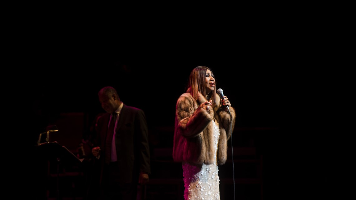 S Aretha Franklin throughout the years in DC
