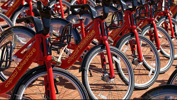 Cyclists beware: Someone may be smearing feces on the undersides of Bikeshare bike handles