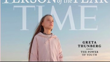 VERIFY: Did mural of Greta Thunberg require 700 cans or 700 gallons of spray paint to create?