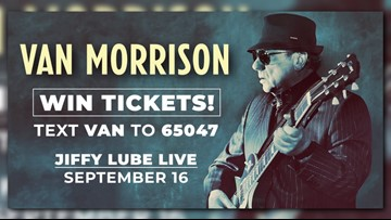 Win tickets to see Van Morrison at Jiffy Lube Live