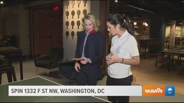 Learn how to play ping pong at SPIN DC with the 13-time Swedish national champion