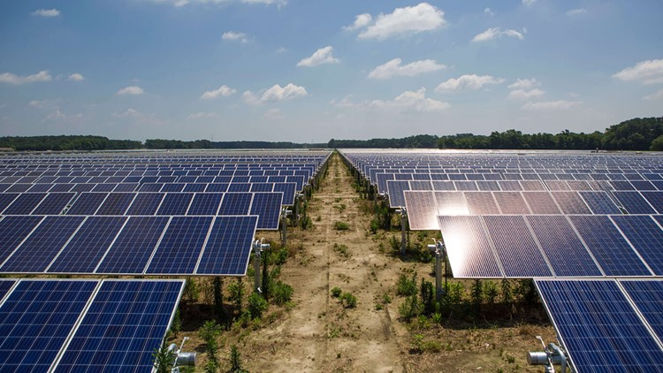 Dominion Energy Solar Project Dulles