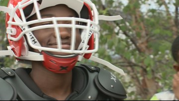 'These kids need this'   DC youth football team surprised with new uniforms
