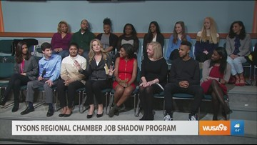 Looking ahead to the future with Fairfax County students