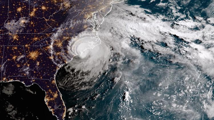 Hurricane Florence made landfall near Wrightsville Beach in North Carolina Friday morning.